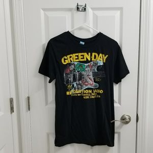 Green Day Band Tee NWOT